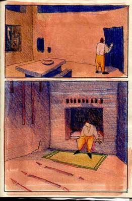 blandine galtier, illustration comic book