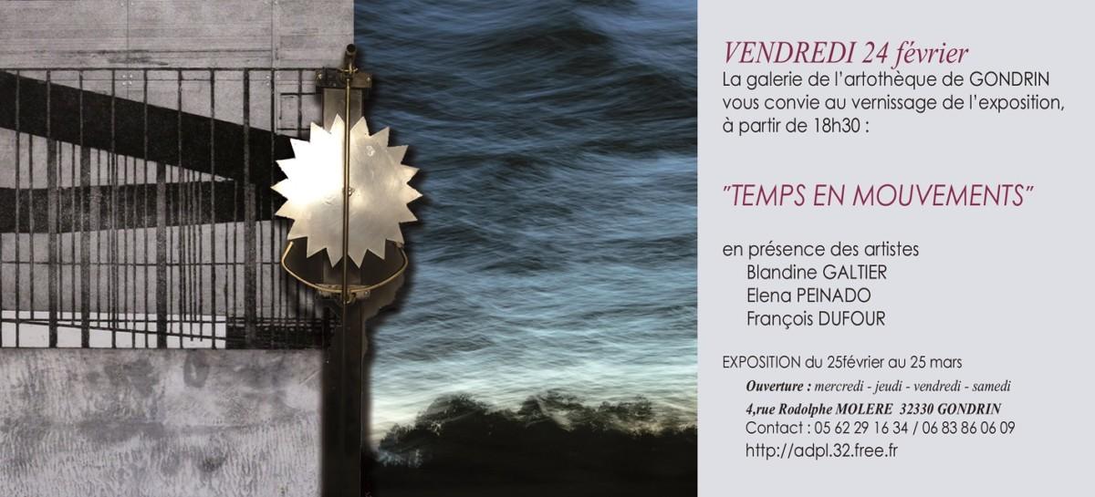 blandine galtier elena peinado francois dufour artotheque de gondrin christophe bassetto