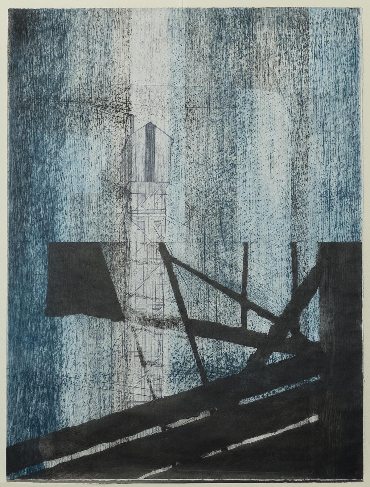 labastide, monoprint, carborundum, pointe sèche, chine-collé, monotype sur papier wenzhou 30g ou de gravure 160g, blandine galtier ©