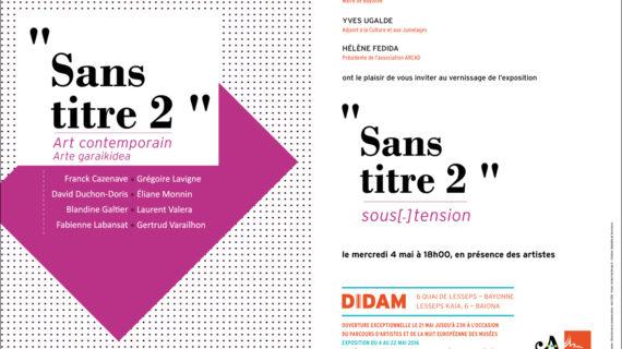 exposition sans titre 2 DIDAM bayonne, gravure contemporaine, blandine galtier