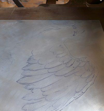 labastide d'armagnac, résidence de création, atelier Richard Freeth
